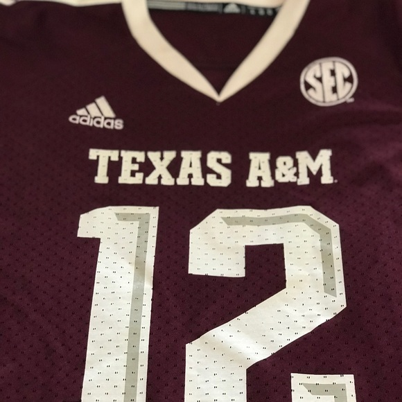 low priced c0bf6 1ebb9 Women's adidas Texas A&M football Jersey